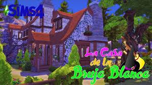La Casa de la Bruja Blanca 🧙♀️ Sims 4 - SpeedBuild - YouTube