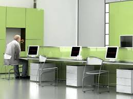 combined office interiors. Awesome Trendy Office Ideas Combined Interiors Desk Full Size Style Contractors Interior Decorators In Chennai