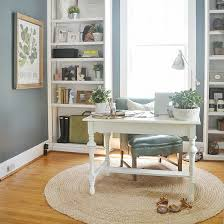 Office color palettes Contemporary Blue Color Palette Hughes Marino Tips For Creating Casual Yet Chic Coastal Office Space