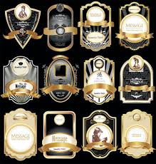 Label Design Free Golden Luxurious Retro Labels Design Vector 04 Free Download