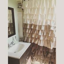 Contemporary Tan Shower Curtains Beautiful Curtain N In Ideas