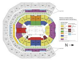 72 Precise Nebraska Coliseum Seating Chart