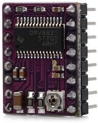 generic reprap stepstick drv8825 stepper motor driver module work with arduino purple