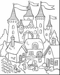 Small Picture beautiful flower garden coloring pages with castle coloring page