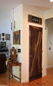 barnwood pantry door