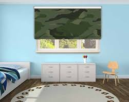 Window Blinds  Camouflage Blinds For Windows Designer Roller Camouflage Window Blinds
