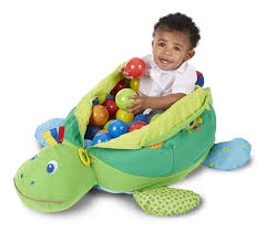 1 melissa doug kids turtle ball pit