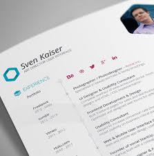 28 Free CV Resume Templates ( HTML PSD & InDesign ) | Web & Graphic ...
