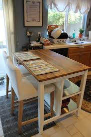 Ikea Stenstorp Kitchen Island Comes With Seating Space For Two And