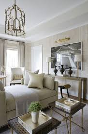 )Sitting Room By Michael Hampton, DC Design House 2013 White And Gold  Interior