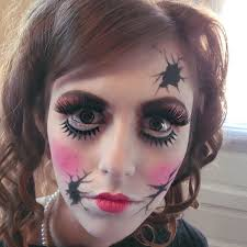 broken doll makeup ideas