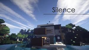 silence modern house minecraft