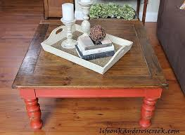 old coffee table life on kaydeross creek