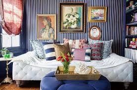 Modern Bedroom Design Ideas With Striped Bedroom Wallpaper  Home Wallpaper Room Design Ideas