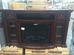 Interiors  Wonderful Costco Bayside Tv Stand Electric Fireplace Walmart Electric Fireplaces