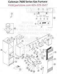 7656 856 coleman gas furnace parts hvacpartstore click here to view a manual for the coleman 7665 856 which includes wiring diagrams