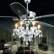 fan chandelier combo ceiling fans exquisite crystal chande