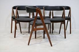 mid century danish teak dining chairs by th harlev for farstrup møbler 1950s set of 6