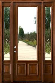 entry doors with two sidelights