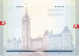 New Canadian Passport Design New Canadian Passports To Feature Computer Chip