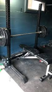 home bench squat rack nautilus w safety stands h d adjule power weight racks