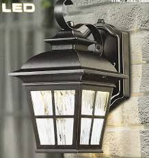 Altair Lighting Outdoor Led Lantern Costco Altair Outdoor Energy Savings Led Lantern 6 5in W X 11 3in H X 8 5in