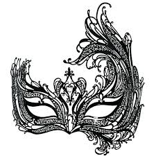 Masquerade Mask Template New Masquerade Ball Mask Template Free Big Swan Metal Filigree Laser Cut