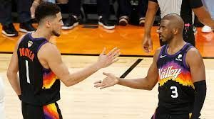 Suns' Devin Booker dismisses weird question about Chris Paul after Game 5  loss - Insider Voice
