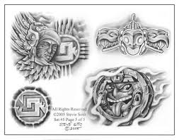 медальоны племени майя
