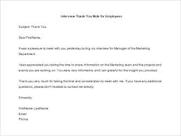 Thank You Note To Employee 15 Thank You Letter To Employee Pdf Doc Free Premium Templates