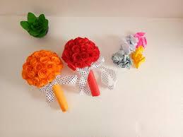 Paper Flower Bouquet Tutorial Diy Waste Paper Flower Bouquet Tutorial Skill Flair Easy Craft