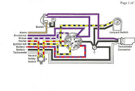 i have a 1997 50 hp johnson outboard motor on a party barge i Pollak Ignition Switch Wiring Diagram here is a diagram of the ignition wires pollak 192-3 ignition switch wiring diagram