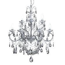 grey chandelier
