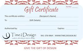 certificate of interior design.  Certificate Gift Certificates  Give The Gift Of Design Inside Certificate Of Interior Design E