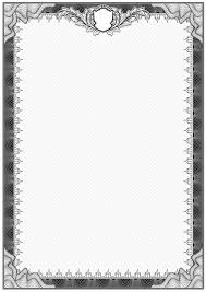 white certificate frame simple black and white certificate frame border vector premium