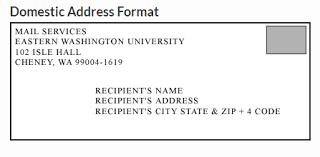 Correct Envelope Address Format 14 Guatemalago