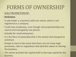 forms of ownership business studies grade ppt video online download