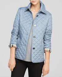 Burberry Brit Diamond Quilted Jacket in Blue | Lyst & Gallery. Previously sold at: Bloomingdale's · Women's Quilted Jackets Adamdwight.com