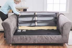 how to fix a sagging couch re