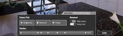 enscape s video editor