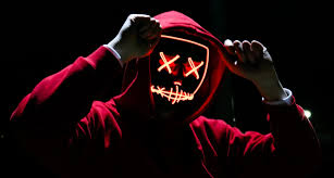Halloween Led Light Up Purge Mask Light Up Purge Mask Pogot Bietthunghiduong Co