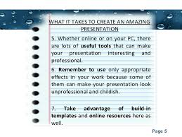 presentation topics for college students 5 powerpoint templates page 5 what it takes to create an amazing presentation