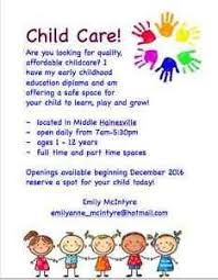 Home Daycare Ads Magdalene Project Org