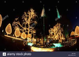 beautiful christmas decorations. Beautiful Christmas Decorations With Lights At Famous Opryland Hotel In Nashville Tennessee USA
