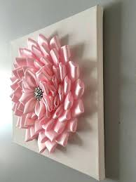 3d flower wall art wall art flower wall art of photos baby pink flower wall art