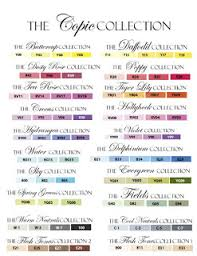 Copic Color Blending Chart Flourishes Newsletter Getting To Know Copics