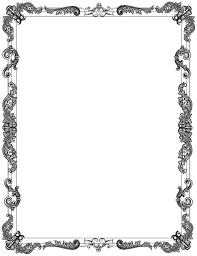 ornate frame black border decoration vintage decorative victorian