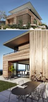 view modern house lights. Simple House 14 Examples Of Modern Beach Houses  Light Wood Paneling Covers The  Exterior Of Australian Beach House That Opens Up Wide To Show Off Incredible  Throughout View House Lights R