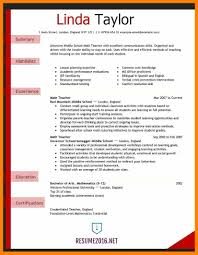 Elementary School Resume 24 Elementary School Teacher Resumes Gcsemaths Revision 10
