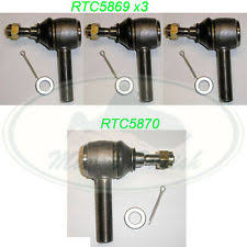 tie rod linkages for land rover discovery for sale ebay Semi Truck Steering Linkage Diagram land rover steering tie rod end set discovery defender range classic mr0031 oem (fits land rover discovery)